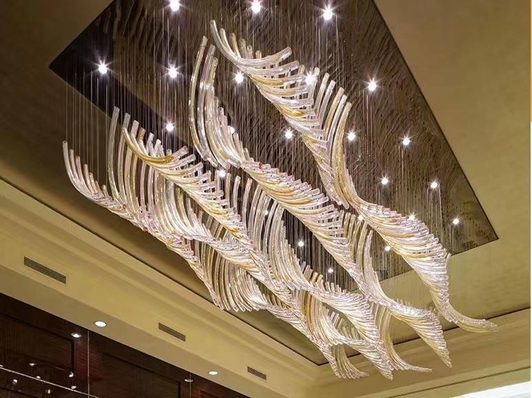 酒店前厅灯